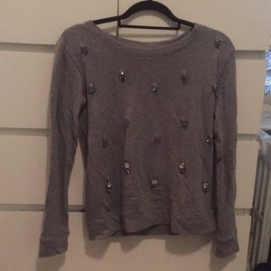 Jessica Simpson sweater with beading!